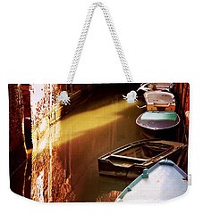 Legata Nel Canale Weekender Tote Bag by Micki Findlay