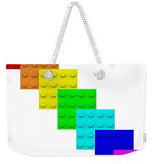 Lego Box White Weekender Tote Bag