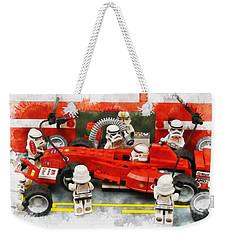 Lego Pit Stop Weekender Tote Bag