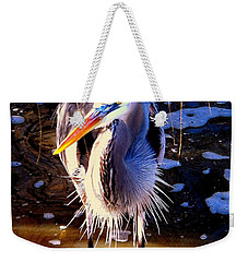 Weekender Tote Bag featuring the photograph Legs by Faith Williams