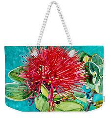 Lehua Blossom Weekender Tote Bag