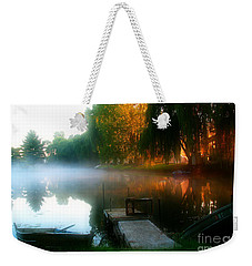 Leidy Lake Campground Weekender Tote Bag