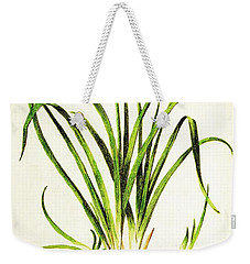 Lemon Daylily Botanical Weekender Tote Bag