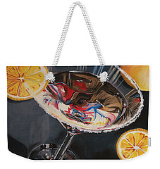 Lemon Drop Weekender Tote Bag by Debbie DeWitt
