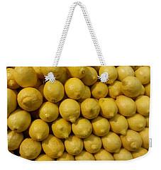 Lemon Drops Weekender Tote Bag