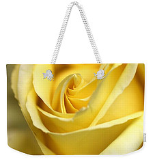 Weekender Tote Bag featuring the photograph Lemon Lush by Joy Watson