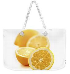 Lemons Weekender Tote Bag by Elena Elisseeva