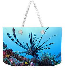 Leon Fish Weekender Tote Bag by Sergey Lukashin