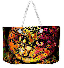 Leon Weekender Tote Bag by Natalie Holland