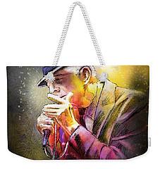 Leonard Cohen 02 Weekender Tote Bag
