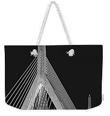 Leonard P. Zakim Bunker Hill Memorial Bridge Bw II Weekender Tote Bag