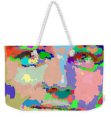 Leonardo Dicaprio - Abstract 01 Weekender Tote Bag