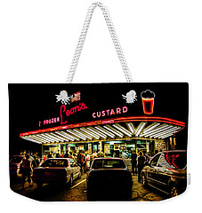 Leon's Frozen Custard Weekender Tote Bag