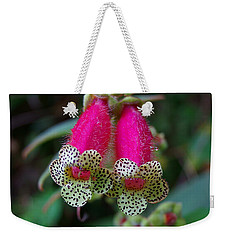 Leopard Flower - K. Digitaliflora Weekender Tote Bag