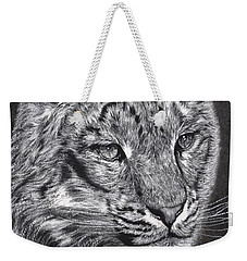 Adams Leopard - Pastel Weekender Tote Bag by Adam Olsen