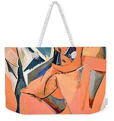 Les Demoiselles D'avignon Picasso Detail Weekender Tote Bag by RicardMN Photography