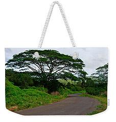 Less Traveled Road Weekender Tote Bag