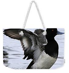 Lesser Scaup Duck  Weekender Tote Bag