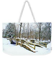 Let It Snow Let It Snow Weekender Tote Bag by Kay Novy