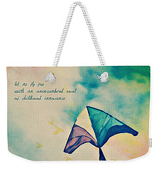 Let Me Fly Free Weekender Tote Bag