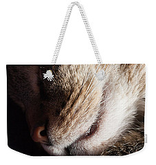 Let Sleeping Cats Lie Weekender Tote Bag