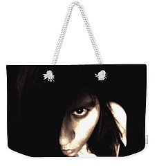 Weekender Tote Bag featuring the photograph Let The Darkness Take Me by Vicki Spindler