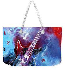 Let The Music Play Weekender Tote Bag