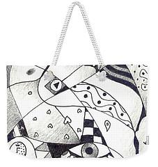 Let Us Dance Weekender Tote Bag by Helena Tiainen
