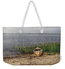 Weekender Tote Bag featuring the photograph L'etang by Hanny Heim