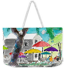 Let's Eat Outside Weekender Tote Bag