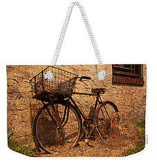 Let's Go Ride A Bike Weekender Tote Bag