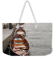 Weekender Tote Bag featuring the photograph Let's Ride by Tiffany Erdman