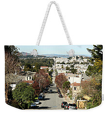 Weekender Tote Bag featuring the photograph Let's Take It From The Top by Carol Lynn Coronios