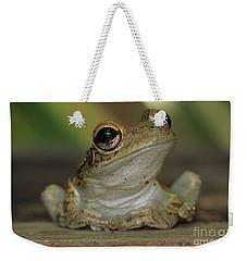 Let's Talk - Cuban Treefrog Weekender Tote Bag