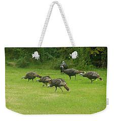 Let's Turkey Around Weekender Tote Bag