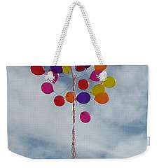 Letting Go Weekender Tote Bag by Emmy Marie Vickers