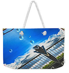 Letting Go Weekender Tote Bag by Wendy J St Christopher
