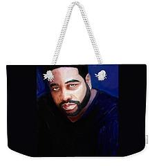 Weekender Tote Bag featuring the painting Levert by Vannetta Ferguson