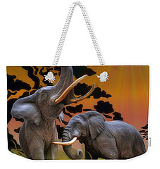 Leviathans Of The Land Weekender Tote Bag