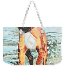 Leyla Weekender Tote Bag by Jeanne Fischer