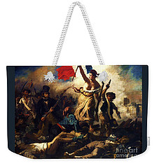 Liberty Guiding The People Weekender Tote Bag by Pg Reproductions