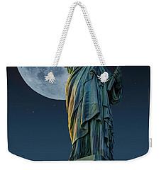 Liberty Moon Weekender Tote Bag