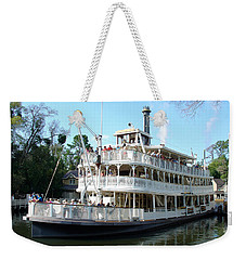 Weekender Tote Bag featuring the photograph Liberty Riverboat by David Nicholls