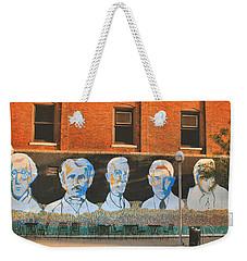 Liberty Street Mural Weekender Tote Bag