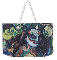 Librarian Of The Night #1 Weekender Tote Bag by Avonelle Kelsey