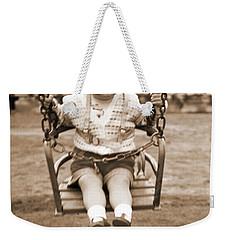 Life Begins Weekender Tote Bag by Terri Waters