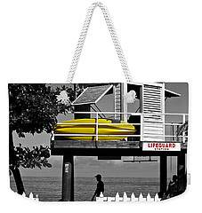 Life Guard Station Weekender Tote Bag