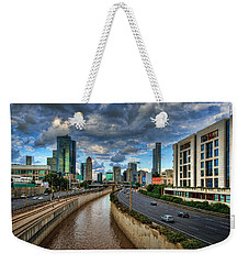 Weekender Tote Bag featuring the photograph Life In The Fast Lane by Ronsho