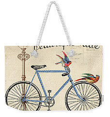 Life Is A Beautiful Ride Weekender Tote Bag