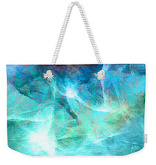 Life Is A Gift - Abstract Art Weekender Tote Bag by Jaison Cianelli